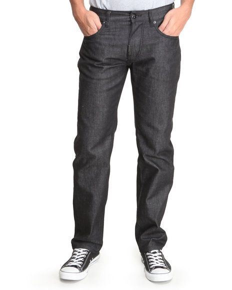 LRG - Men Black Infantree True-Straight Jeans