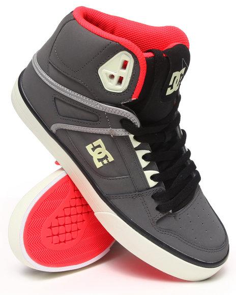 DC Shoes Black Spartan Hi Wc Le Sneakers