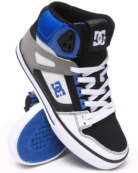 DC Shoes Grey,White Spartan High Sneakers