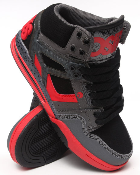 The Skate Shop Black,Grey,Red Rucker Sneakers
