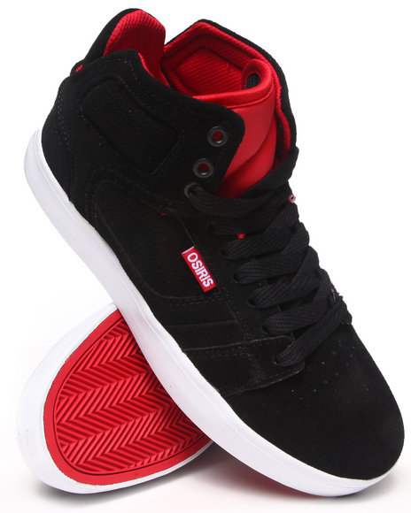 Osiris - Men Black,Red Effect Sneakers - $35.99