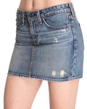 DJP OUTLET - Big Star Courtney Distressed Denim Mini Skirt