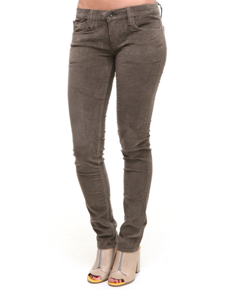 DJP OUTLET - Cult Of Individuality Velvet Teaser Skinny Pants
