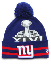 New Era - New York Giants Super Bowl XLVI Wide Point Knit Hat