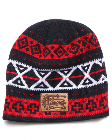 Lrg Father Nature Beanie Navy