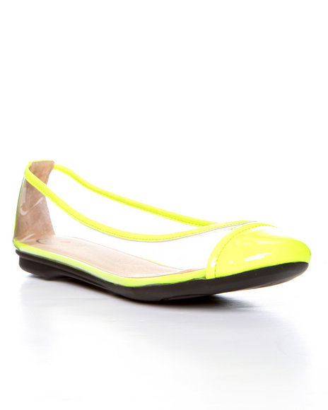 Djp Outlet - Women Yellow Penny Loves Kenny Lassie Ballet Flat