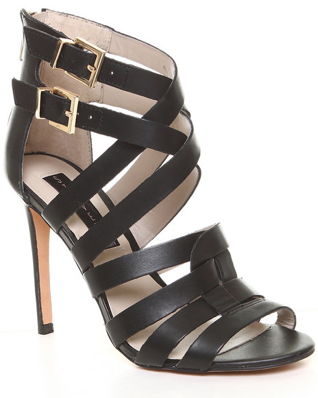 Djp Outlet - Women Black Steven By Steve Madden Livly Sandal