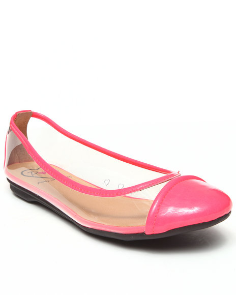 Djp Outlet - Women Pink Penny Loves Kenny Lassie Ballet Flat - $21.99