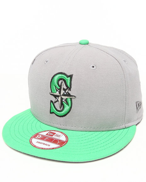 New Era Seattle Mariners Tropical Islands Edition 950 Snapback Hat Grey