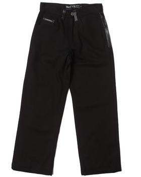 Arcade Styles - Denim Jeans w/ Faux Leather Trim (8-20)