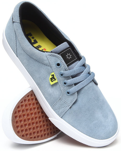 Dc Shoes - Men Light Blue Council S Sneakers - $31.99