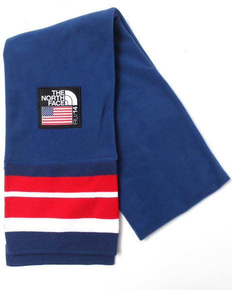The North Face International Mountain Scarf Blue