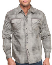 Button-downs - Muted Plaid Woven Shirt