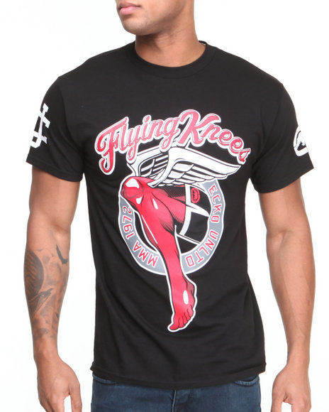 Ecko Black Flying Knees T-Shirt