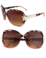 Women - Animal Gradient  2-Tone Sunglasses