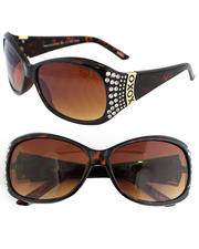 Women - Blinged Temple Sunglasses