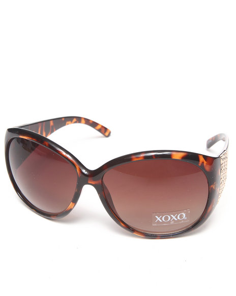 Xoxo Women Gradient Leopard Sunglasses Brown