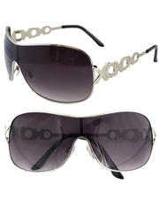 Women - Monogram Temple Shield Sunglasses
