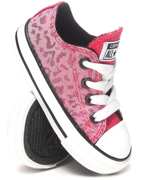 Converse Girls Light Pink Chuck Taylor All Star Lo (5-10)