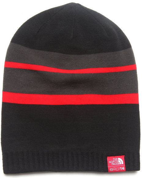 The North Face Boys International Reversible Beanie Black Medium