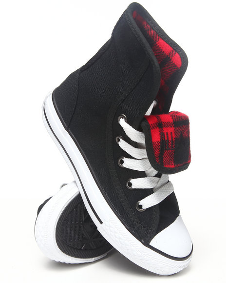 Converse - Girls Black Chuck Taylor All Star Super (11-3) - $28.99