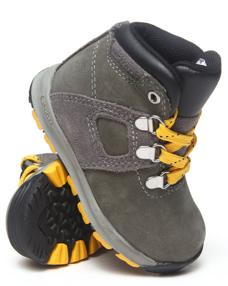 Timberland - Boys Grey Earthkeepers Gt Scramble Boots