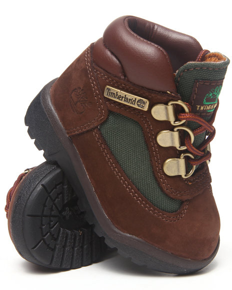 Timberland Boys Brown Field Boots