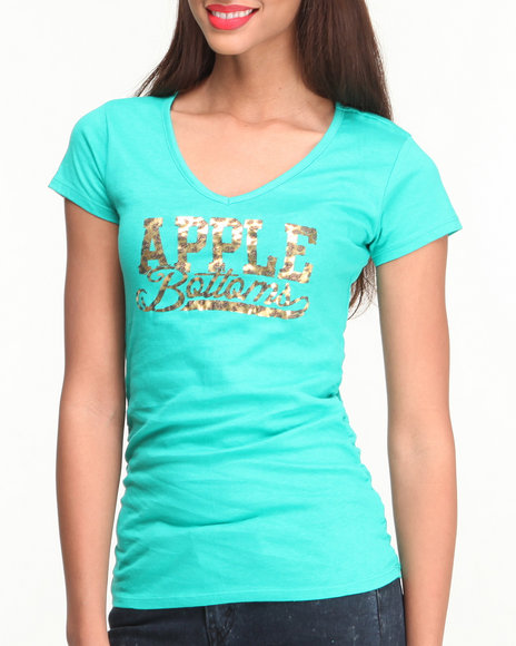 Apple Bottoms Green Tees
