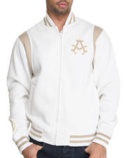 Akademiks - Collegiate fleece varsity jacket