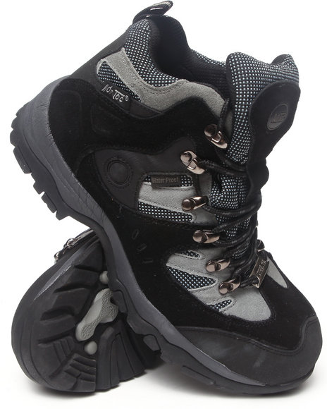 Buyers Picks - Men Black Mens Waterproof Steel Toe Boots