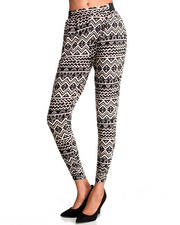 Women - Lafayette Tribal Printed Jogger Pants