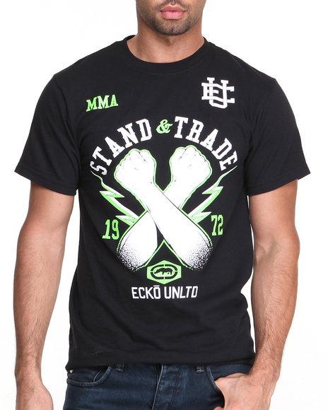 Ecko Black Stand & Trade T-Shirt