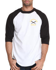 AKOO - Black Eye Crew 3/4 Sleeve Raglan Tee
