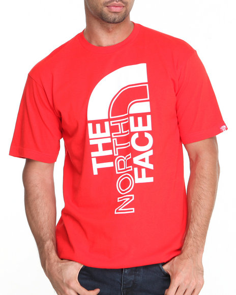 The North Face Red International S/S Logo Tee