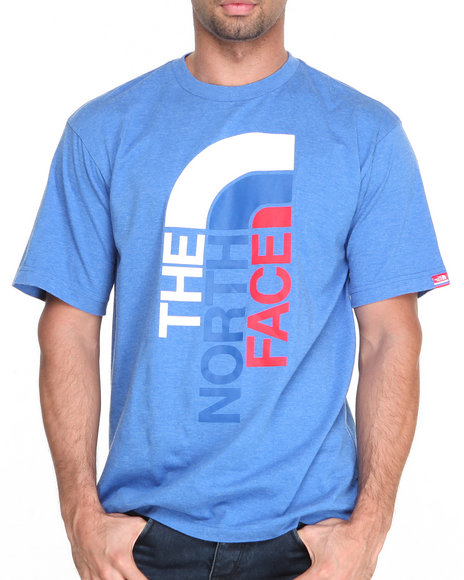 The North Face - Men Blue International S/S Logo Tee