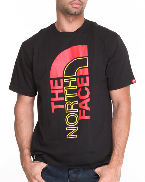 The North Face Black,Yellow International S/S Logo Tee
