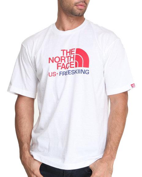 The North Face - Men White International Short-Sleeve Freeski Tee