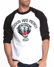 AKOO - Without Mercy 3/4 Sleeve Raglan Tee