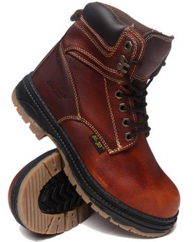 "Buyers Picks - Men's 6"" Plain Toe Work Boots"