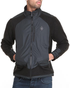 Psyberia - Nomadic Wolf Zip-Up Fleece