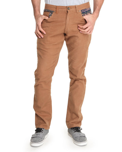 Rocksmith - Men Khaki Freetown Moleskin Denim Jeans