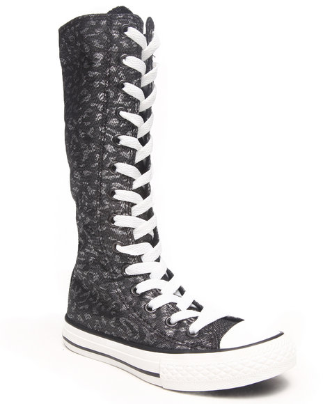 Converse - Girls Black Chuck Taylor All Star Xhi (11-3) - $45.99