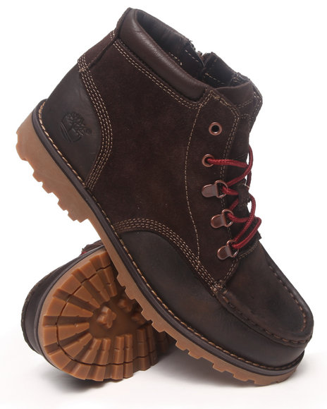 Timberland - Boys Brown Earthkeepers Asphalt Trail Shoes