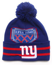 New Era - New York Giants Super Bowl XXV Vintage  Wide Point Knit Hat