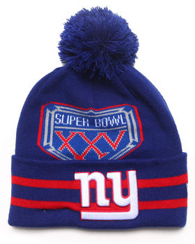 New Era - New York Giants Super Bowl XXV Vintage  Wide Point Knit Hat