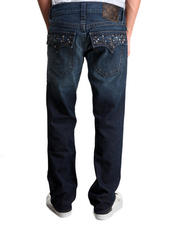 Straight - Ricky Pyramid Studded Jean
