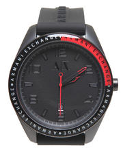 Watches - A/X Black Silicone 47 mm Watch