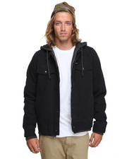Jackets & Coats - AV Edict Hooded Denim Jacket