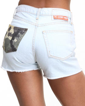 DJP OUTLET - Camo Shorts