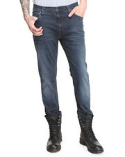 Straight - Thin Finn Organic Blue Core Jeans